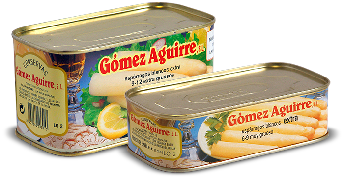 Gómez Aguirre: Espárragos blancos (origen España)