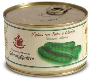 Gómez Aguirre: Pepinos con sabor a anchoa