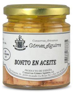 Gómez Aguirre: Bonito en aceite