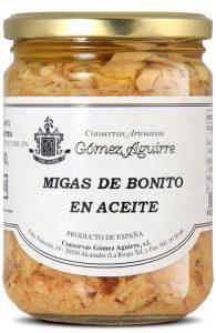 Gómez Aguirre: Migas de bonito en aceite