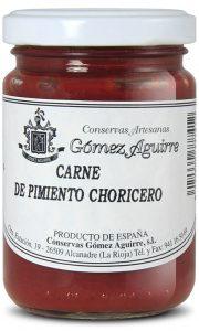 Gómez Aguirre: Carne de pimiento choricero