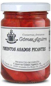 Gómez Aguirre: Pimientos asados picantes