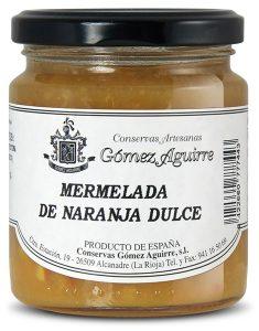 Gómez Aguirre: Mermelada de naranja dulce